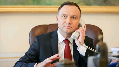 Російські пранкери запитали Анджея Дуду про можливість повернення Львова у склад Польщі
