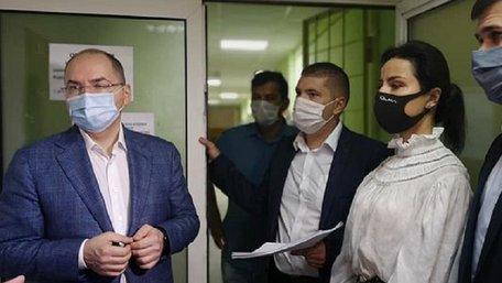 Львівські лікарні інспектує міністр охорони здоров'я Максим Степанов