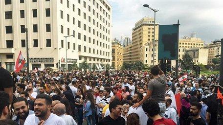 У Бейруті розпочалися антиурядові протести після вибуху в порту
