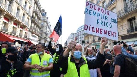 У Франції відновилися протести учасників руху «жовтих жилетів»