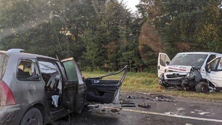 У великій ДТП на трасі Львів-Шегині загинули двоє людей