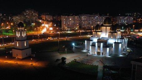 У Львові підсвітили церкву Різдва Пресвятої Богородиці
