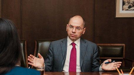 Уряд вирішив звільнити міністра охорони здоров'я Максима Степанова