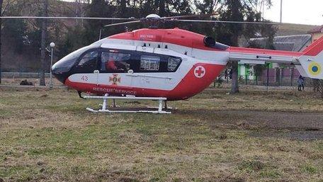 На Львівщині призупинили пілотний проект з аеромедичної евакуації пацієнтів