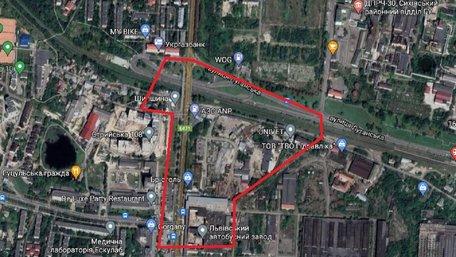 Біля ЛАЗу планують збудувати 16-поверховий готель та офіси