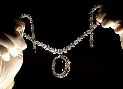 кулон з чорним діамантом
