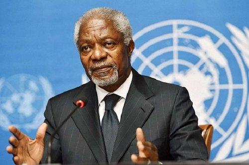 Помер колишній генсек ООН і лауреат Нобелівської премії миру Кофі Аннан. Дипломат помер у швейцарській лікарні після нетривалої хвороби