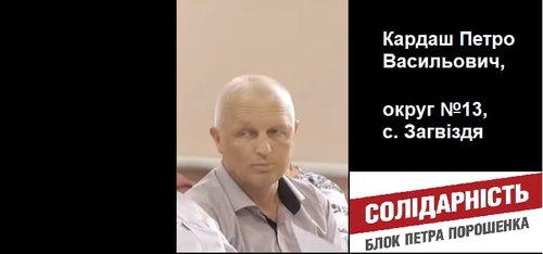 Депутат Петро Кардаш не ходить на сесії більш ніж місяць