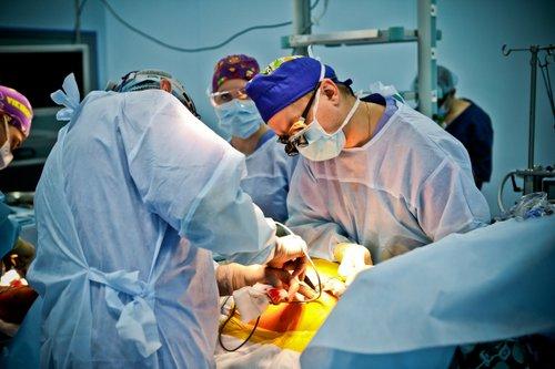 Фото операції на серці