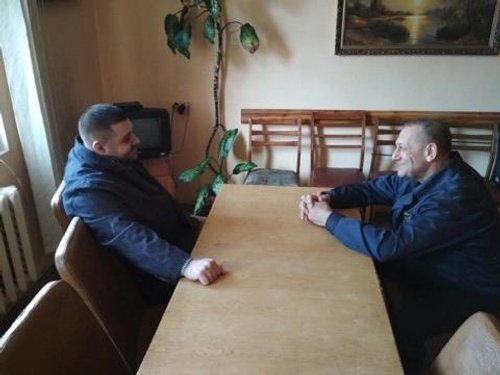 Грановський та Панасенко в колонії