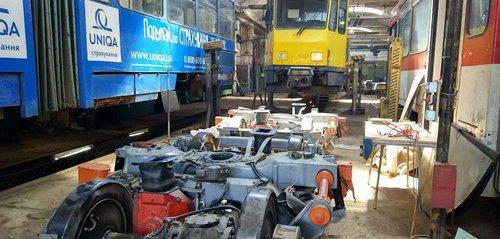 «Львівелектротранс» замовив ремонт візків сумнівній харківській фірмі