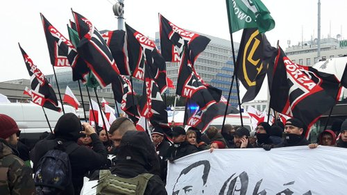 Італійські ультраправі на марші