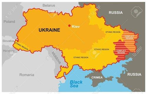 Фейкова мапа, яку пошируюють у Словаччині