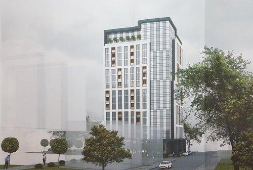 На території «Кінескопу» збудують 16-поверховий офісний центр. У центрі також передбачене приміщення під ресторан