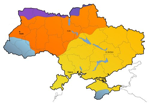 Мапа після впливу змін