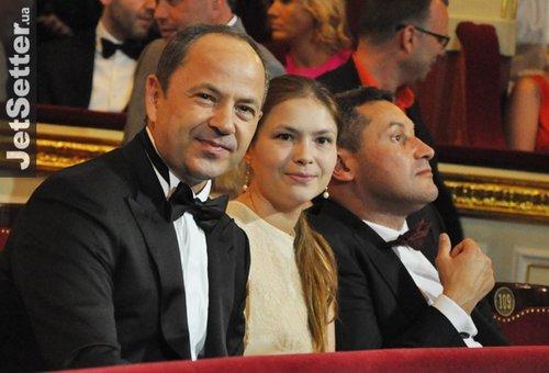 Сергій Тігіпко з дочкою та зятем