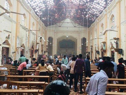 Кількість загиблих від вибухів у церквах та готелях Шрі-Ланки зросла до 207 (відео). Серед загиблих – щонайменше 35 іноземців