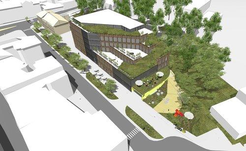 Львівська мерія погодила будівництво 6-поверхового офісу біля Стрийського ринку