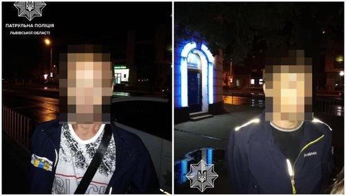У Львові затримали двох грабіжників, які представлялися жертвам працівниками СБУ