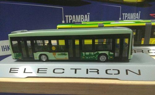 Львівський «Електрон» розробив перший тролейбус з автономним ходом. Комплектацію машини планують завершити за два місяці