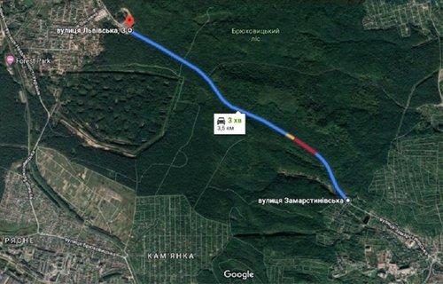 Мерія планує відремонтувати дорогу зі Львова до Брюховичів. «Львівавтодор» замовить проект реконструкції дороги
