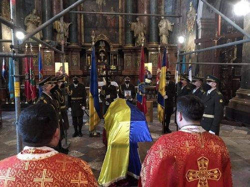 У Львові попрощались із загиблим на Донбасі військовим Ігорем Байталою
