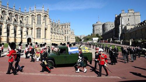 У Великій Британії поховали принца Філіпа (фото, відео)