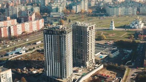 Безпека понад усе: у найвищому хмарочосі Львова перевірили протипожежну систему