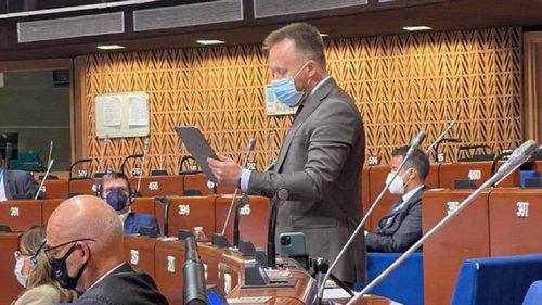 Камельчук заявив у ПАРЄ, що Covid-паспорти суперечать правам людини