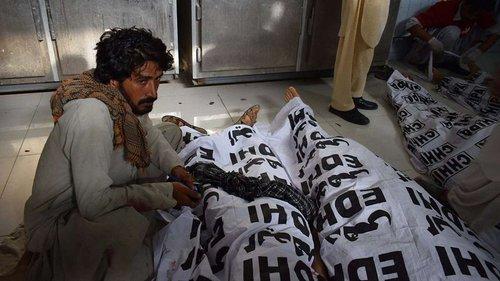 Кількість загиблих після теракту в Пакистані зросла до 140 осіб