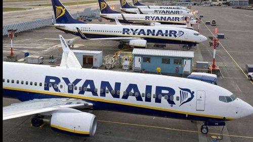 Ryanair в Європі відмінив рейси для 50 тис. пасажирів через страйк бортпровідників