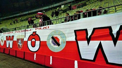 Польські футбольні фанати вивісили банер «Львів – колиска польського футболу»