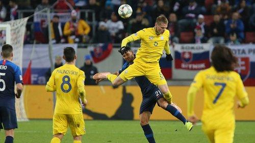 Збірна України зазнала принизливої поразки від збірної Словаччини