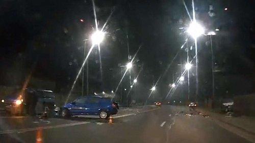 Неподалік Львова зіткнулися чотири авто, є загиблі