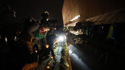 Біля меморіалу Героїв Небесної сотні у Львові вшанували пам'ять Юрія Вербицького