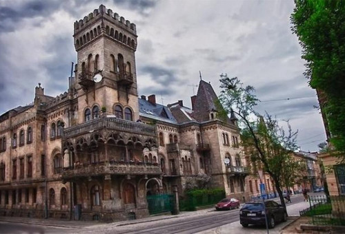 Балкон будинку Юзефа Сосновського