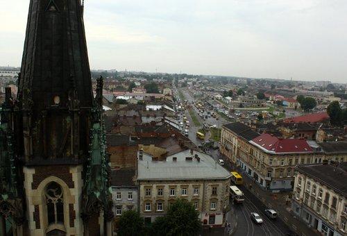 Панорама з оглядового майданчика