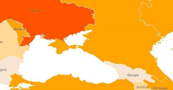 New York Times опублікував карту з російським Кримом у статті про пандемію Covid-19