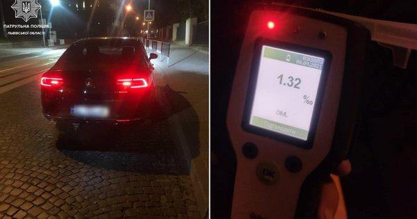 П'яний водій намагався сотнею доларів відкупитися від львівських патрульних  - ZAXID.NET