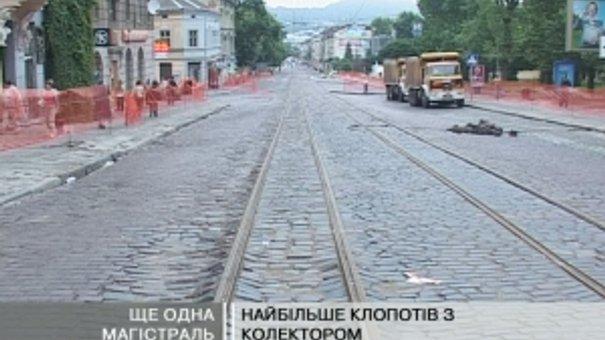 Нині шляховики ремонтують багато львівських вулиць