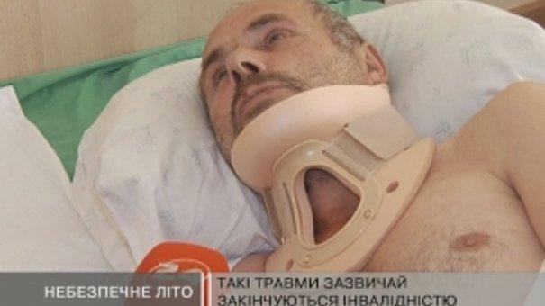 Львівські лікарні заповнені пацієнтами із переломами хребта