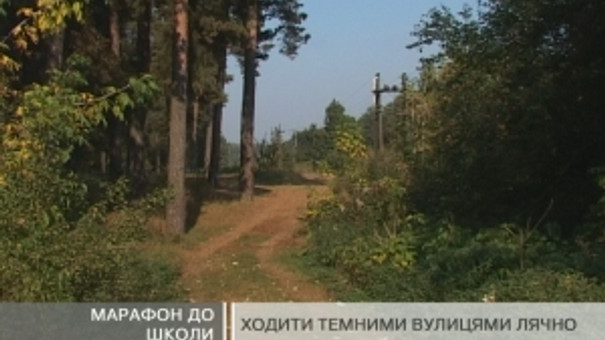 Дітлахи з хутора Гамулець щодня вимушені пішки долати до 10 кілометрів