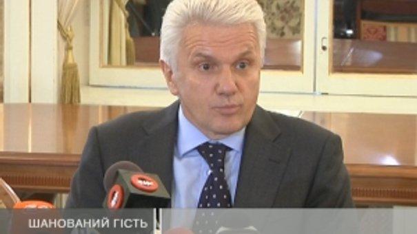 Литвин побував сьогодні у Львові
