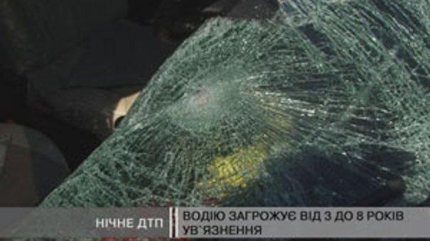 Нічне ДТП у Жовтанцях: Водій міні-фургону збив пішохода та залишив його помирати