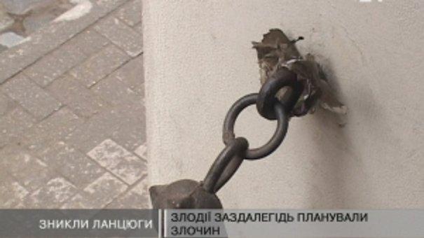 Пограбували Палац Мистецтв