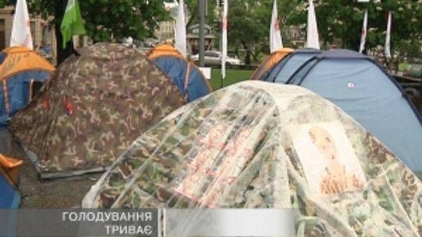 Львівські прихильники Тимошенко продовжують голодувати