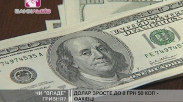 Фахівці: Долар зросте до 8 грн 50 коп.