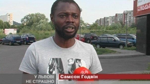 Нігерійський футболіст Самсон Годвін запевняє – у Львові безпечно
