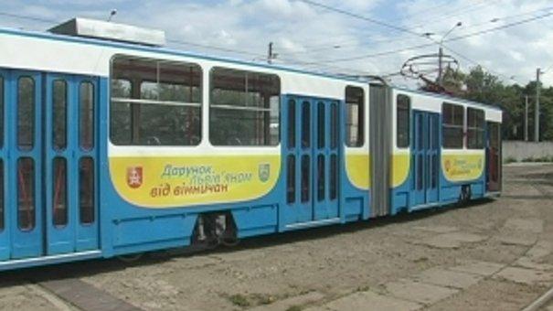 Вінниця подарувала Львову два вживані чеські трамваї