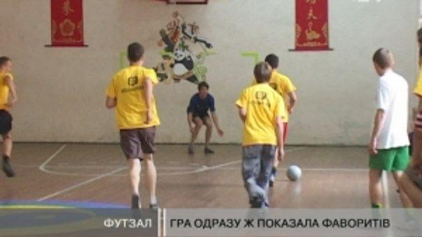 Волонтери зіграли у футбол